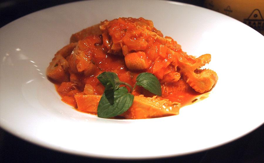 ローマ料理トリッパ写真