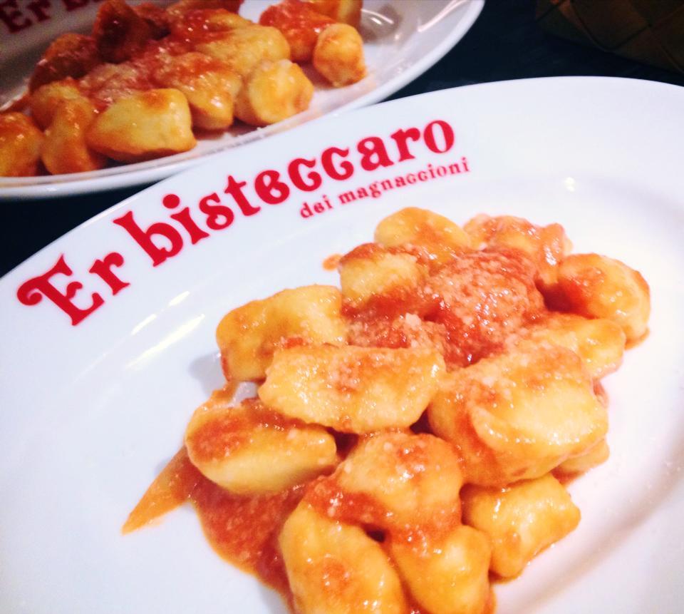 ジャガイモのニョッキ ローマ風写真